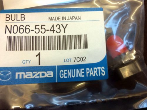Bulb, Mazda MX-5 mk2.5 instrument panel illumination, 3.4w, red, N0665543Y